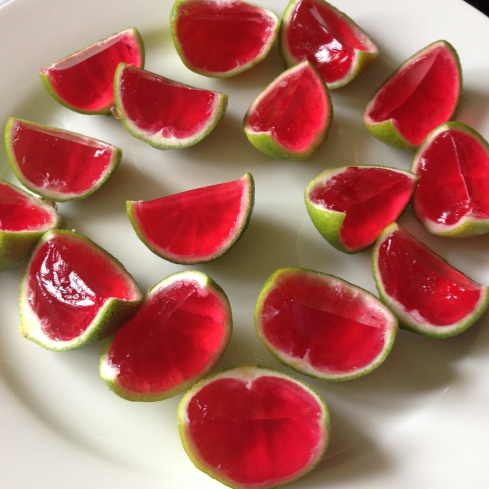 Watermelon Jellies