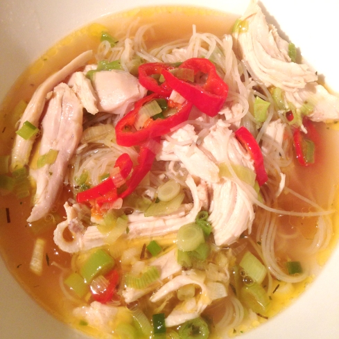 Cold Killing Chicken Soup