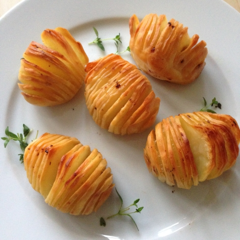 Hassleback Potatoes