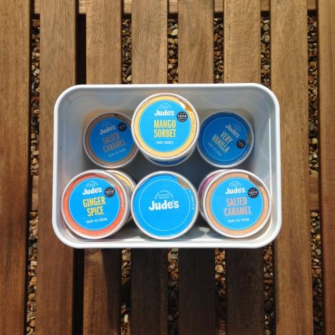 Jude's Gin and Tonic Ice Cream